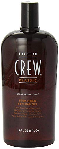 American Crew Classic Firm Hold Styling Gel, 33.8 Fl. Oz., for men American Crew Light Hold Gel