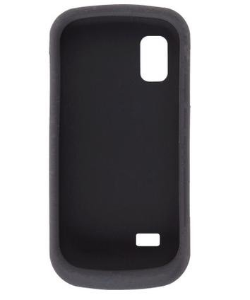 A887 Case - Wireless Solutions Silicon Gel Case for Samsung Solstice SGH-A887 (Black)