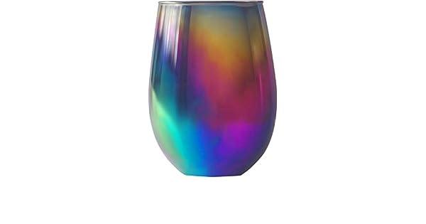 Amazon.com: Circleware - Copas de vino sin tallo: Kitchen ...
