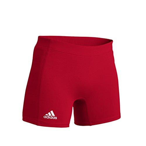 (adidas Womens Techfit 4 Inch Short XL Power Red)