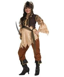 Maternity Pirate Queen Maternity Costume - Maternity