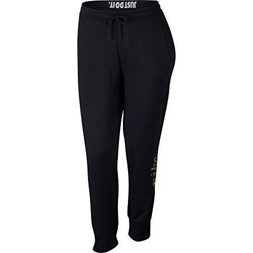 Metallic Reg Pantalon Nsw Nike Noir Femme W Rally black Itxvzaq
