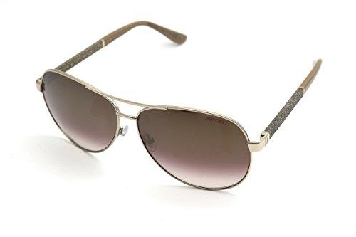 af5f56ab9e Jimmy Choo Sunglasses LEXIE S LEXIE new color (Light Gold (QH brown mirror