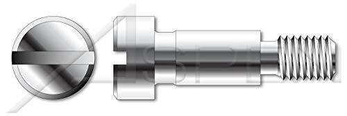 #10-32 X 7//16 Hex Socket Drive Shoulder Screws Stainless Steel 1000 pcs