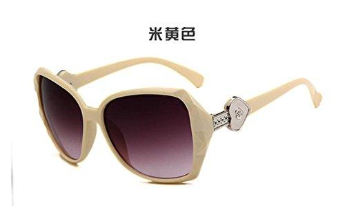 de de metal GLSYJ gafas colorido sol cream hombres patas gafas retro gafas Moda LSHGYJ de sol de gafas color sol t1wRxqwnv