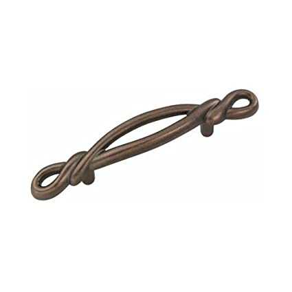 Belwith Products P3451-DAC Cabinet Pull, 3-Inch, Antique Copper - Belwith Products P3451-DAC Cabinet Pull, 3-Inch, Antique Copper