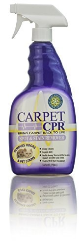 Carpet CPR 32oz Bottle - Spot Treatment & Dirt Repellent for High Traffic Areas and Your Toughest Stains - Treats Spots, Deep Cleans & Repels Dirt in Minutes