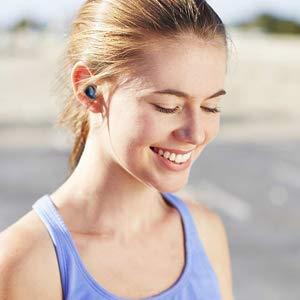Rock Mini Twins Est/éreo Hi-Fi Manos Libres Auricular Deportivos Inal/ámbricos IPX5 Cancelaci/ón Ruido Micr/ófono Integrado con Caja de Carga para iPhone iOS Android Auriculares Bluetooth