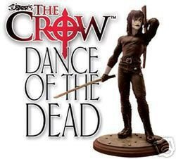 The Crow Dance of the Dead Limited Edition Statue