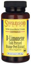 Swanson D-Limonene Cold-Pressed Orange Peel Extract 250 mg 60 (Cold Peel)