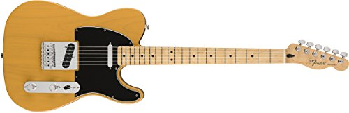 Fender 145102550 Standard Telecaster Electric Guitar - Maple Fingerboard - Butterscotch Blonde