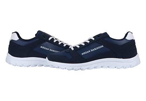 Megan Harisson - Zapatillas de Lona para hombre azul azul 40