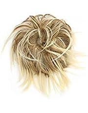 LAOLEE Tousled Updo Messy Krullend Broodje Haarstukje Pluizige Haarverlenging Paardenstaart Scrunchies Pluizige Synthetische Haar Knot Extension