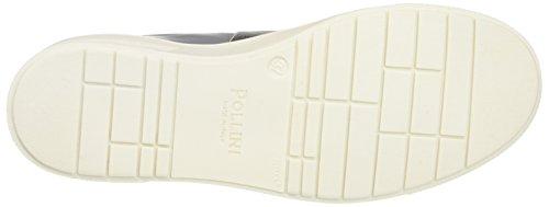 Pollini 32867, Zapatillas de Estar por Casa para Mujer Multicolore (Stone Calf-Blue Overseas Elastic-Silver Lamè Elastic)