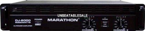 Marathon DJ-6000 DJ Series Amplifier 900@8 Ohms - 1800@4 Ohms - Up To 6000@8Ohm BrIDge
