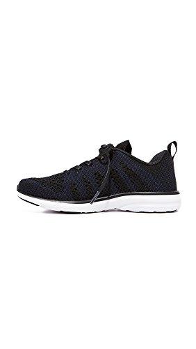 Apl: Atletisk Framdrivnings Labs Womens Techloom Pro Sneakers Svart / Marinblå