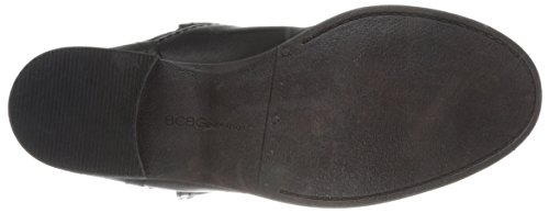 Bcbgeneration Everest Black Cuir Bottine Leather AB4aqRw