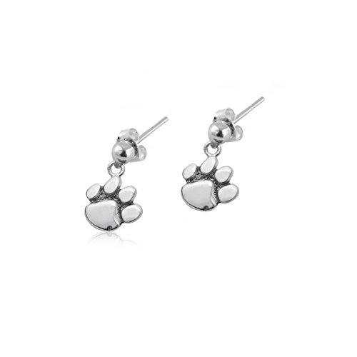 Clemson University Tigers Sterling Silver Jewelry Dayna Designs (Post Dangle (Polished Dangle Post)