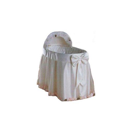 """Babydoll Flowerganze Bassinet Liner/Skirt & Hood, 17"""" x 31"""""""