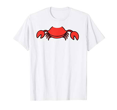 Cool Crab Easy Halloween Costume Seafood Shirt Lazy Gift