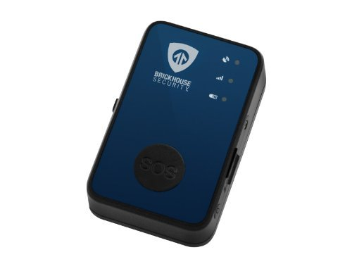 Spark Nano 4.0 Wireless GPS Tracker By Brickhouse Security with Real Time Location Viewing, Detailed Travel Reports, Speed Alerts, Geo Fencing Capabilities and Panic Button