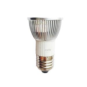 Anyray LED JDR Light Bulb Dimmable 120V - Warm White 5W=(50W ...:Anyray LED JDR Light Bulb Dimmable 120V - Warm White 5W=(50W Halogen  Replacement) E26 / E27 Medium Base 130V,Lighting
