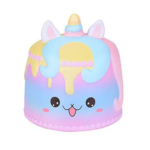 Inforin Jumbo Cartoon Cake Scented Cream Squishy Super Slow Rising Squeeze Toy -
