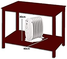 Bastilipo MRA-600 Radiador de Fluido, 600 W, Acero, Blanco: Amazon ...
