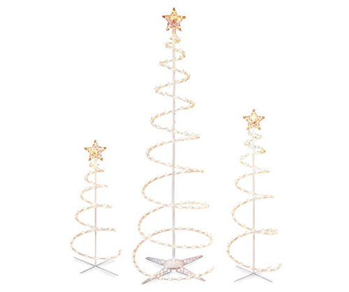 Set-of-3-Lighted-Spiral-Christmas-Trees-3-Ft-4-Ft-and-6-Ft-Winter-Wonder-Lane
