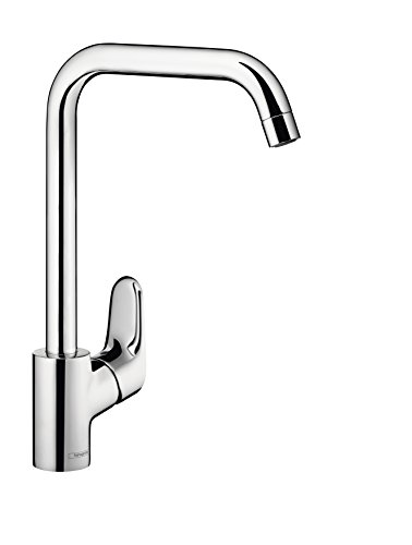 hansgrohe mitigeur de cuisine ecos l chrome 14816000 top bricolage. Black Bedroom Furniture Sets. Home Design Ideas