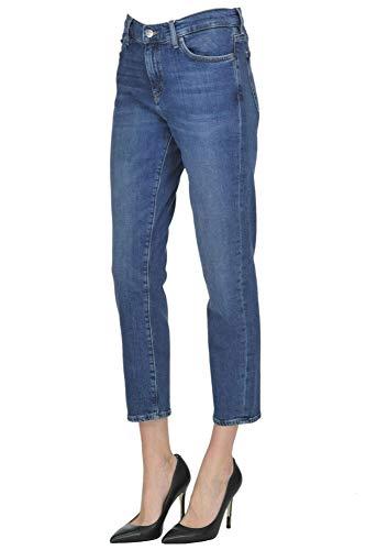 MiH Jeans Femme MCGLDNM04043I Bleu Coton Jeans