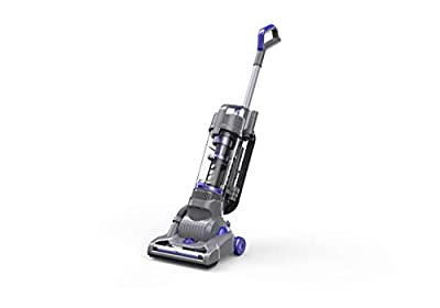 Deik Upright Vacuum Cleaner Bagless Ultra-Light Weight Upright Cleaner 9 Amps / 1100W Superpower Hepa Filter Vacuum for Tile Floors