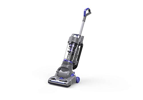 Deik Upright Vacuum Cleaner Bagless Ultra-Light Weight Upright Cleaner 9 Amps / 1100W Superpower Hepa Filter Vacuum for Tile Floors ()