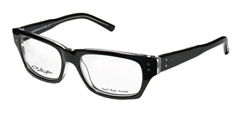 Viper Full Face (Smith Optics Bradford Mens/Womens Designer Full-rim Spring Hinges Eyeglasses/Eyewear (50-17-135, Black / Clear))