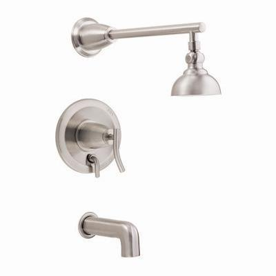 Danze D504054BN Sonora Single-Handle Tub and Shower Faucet, Brushed Nickel by Danze