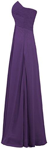 Grape ANTS Women's Gowns Chiffon Long Evening Dresses Bridesmaid xF7wqP