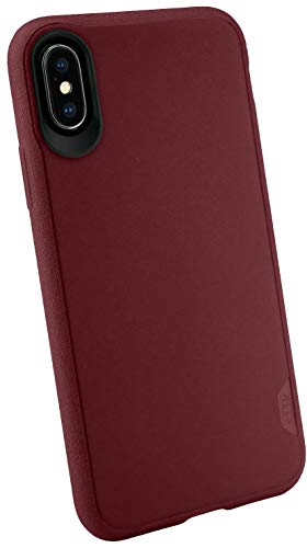 Smartish iPhone Xs/X Slim Case - Kung Fu Grip [Lightweight + Protective] Thin Cover for Apple iPhone 10/10s (Silk) - Red Rover Red Rover