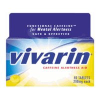 Vivarin comprimés de 200 mg, 40-Count