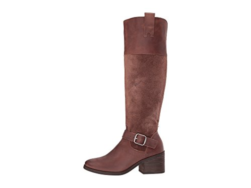 Lucky Women's LK-KAILAN Equestrian Boot (Wide Calf) Tobacco -