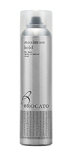 Spray Finishing Shaping (Brocato Maximum Hold Aerosol Hairspray by Beautopia Hair: Extra Strong, Volumizing Finishing Spray for Styling - 10 oz)