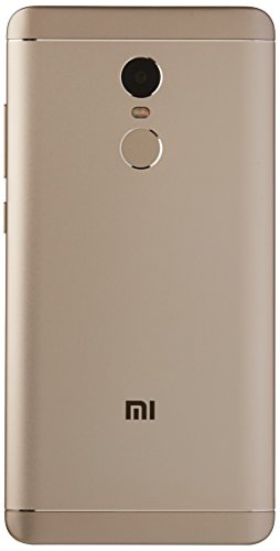 Xiaomi Redmi Note 4 5.5-Inch GSM Unlocked Smartphone with Dual LTE, 32GB, Dual Sim, 13MP, No Warranty - International Version (Gold)