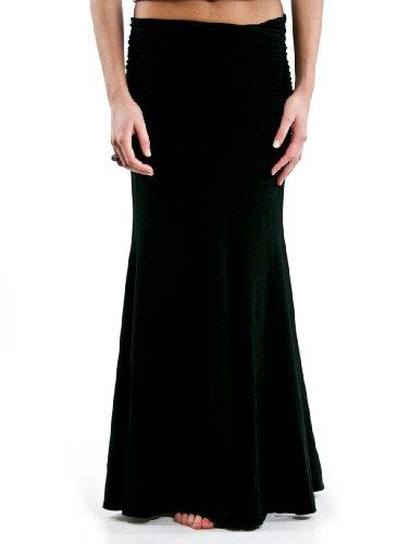 Hard Tail Scrunch Waistband Long Dress/Skirt