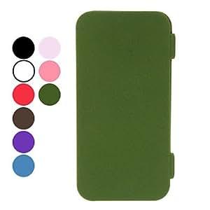 Procesamiento de dos días -Diseño elegante del caso del tpu de cuerpo completo con soporte para el iphone 5/5s (colores surtidos),Rose
