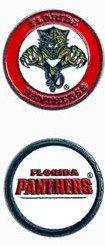 チームゴルフFlorida Panthers両面ボールマーカー   B0092FH69M