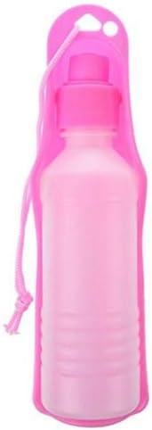 pet Water Bottle Pet Drink Feed Travel Water Bottle Dispenser Feeder Outdoor Tableware Dog Cat Water Fountains