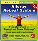 Allergy ReLeaf System – 2 Bottles (Allertonic & Quercetin) Herbs Etc 60+60 Softgel For Sale