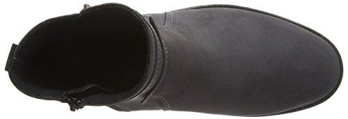 Boots Women's Grey Biker 990865 Gray Comfortabel qzY1Bw