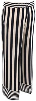 Kocca Blue and White Striped Pants MAURICE-F6039 Women