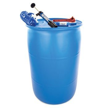 (Nutristore Deluxe BPA Free 55-gallon Barrel Water Storage System with Aquamira Filtration Kit)