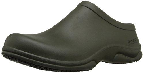 Bogs Mens Stewart Soins De Santé Et Service Alimentaire Chaussures Vert Foncé